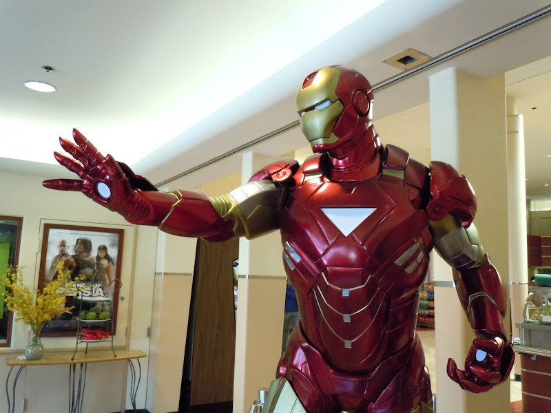 Original Iron Man 2 suit of armour