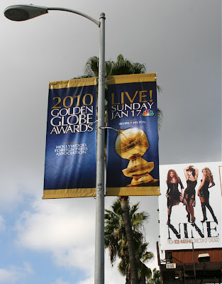 67th Golden Globe Awards banner