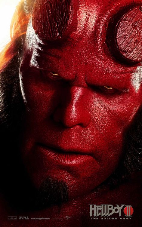 Hellboy 2 movie poster