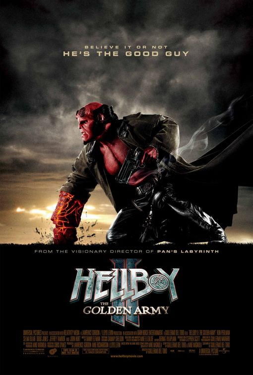 Hellboy II The Golden Army film poster