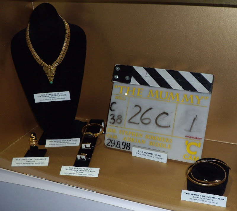 Original The Mummy film costume accessories