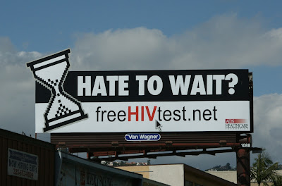 Free HIV Test billboard