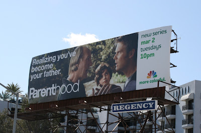 Parenthood Become your father billboard
