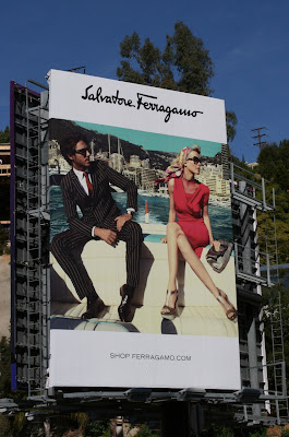 Salvatore Ferragamo fashion billboard