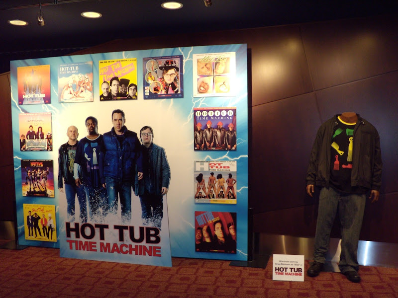 Hot Tub Time Machine movie costume display