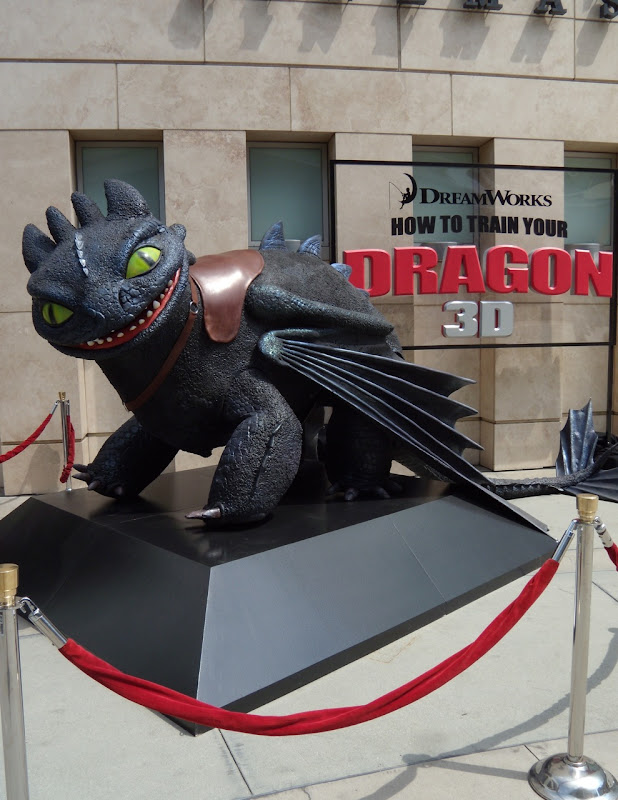 How to train your Dragon ArcLight Hollywood exhibit