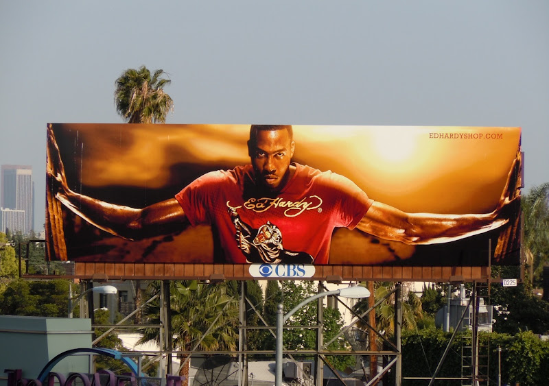 Ed Hardy fashion billboard