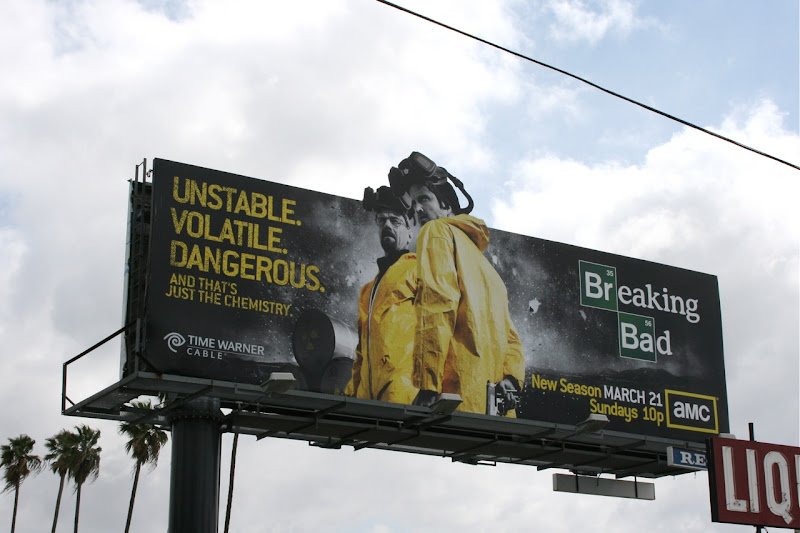 Breaking Bad season 3 TV billboard