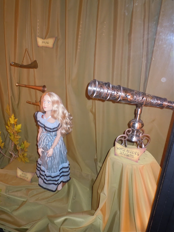 White Queen Telescope Alice movie prop