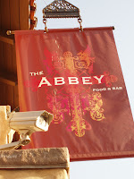 The Abbey sign
