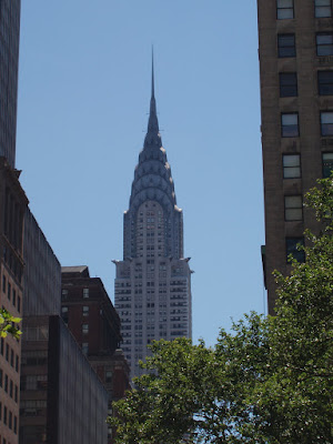 The Chrysler Building on East 42nd Street New York City