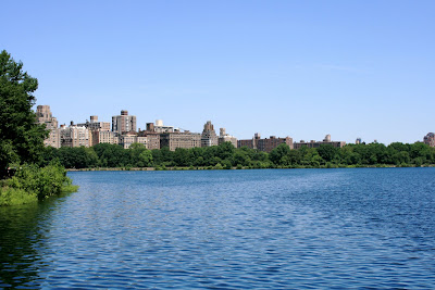 Renamed the Jacqueline Kennedy Onassis Reservoir in 1994 and located between 85th and 96th Streets at the centre of Central Park