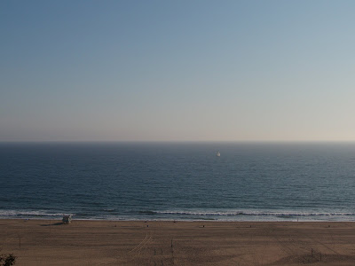 The Pacific Ocean at Santa Monica