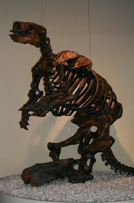Harlan's Ground Sloth at Page Museum
