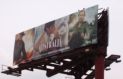Billboard for the film Australia