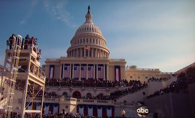 President Obama's inauguration day