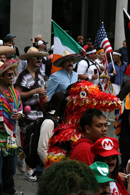 Mexican costumes Bay to Breakers 2010