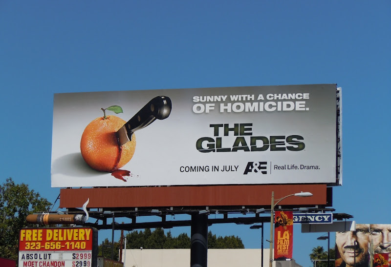 The Glades season 1 TV billboard