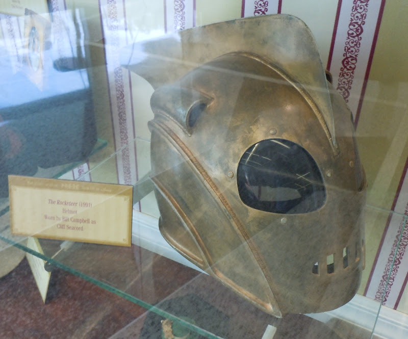 The Rocketeer helmet movie prop