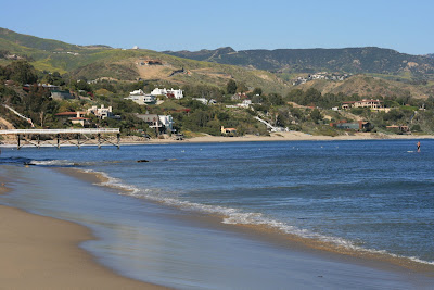 Paradise Cove beach in Malibu
