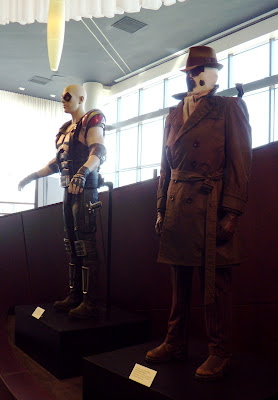 The comedian and Rorschach Watchmen film costumes