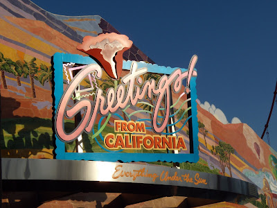 Greetings from Disney's California Adventure