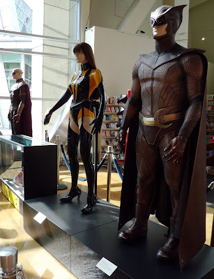 Watchmen film costumes on display