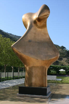 Bronze Form sculpture by Henry Moore
