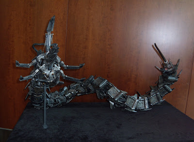 Terminator Salvation water robot movie prop