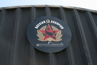 Russian Scorpion submarine sign
