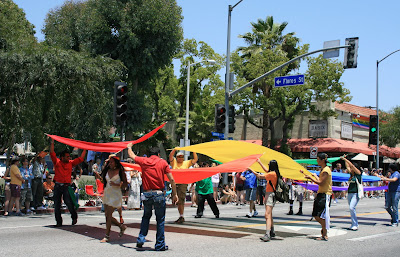 West Hollywood Gay Rainbow Pride Parade 2008