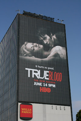 Trueblood season 2 billboard on Sunset Blvd