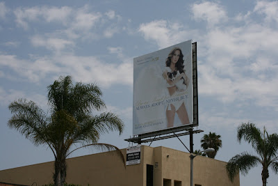PETA animal adoption angel billboard