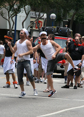 Gay Men's Chorus perform at West Hollywood Pride 2009
