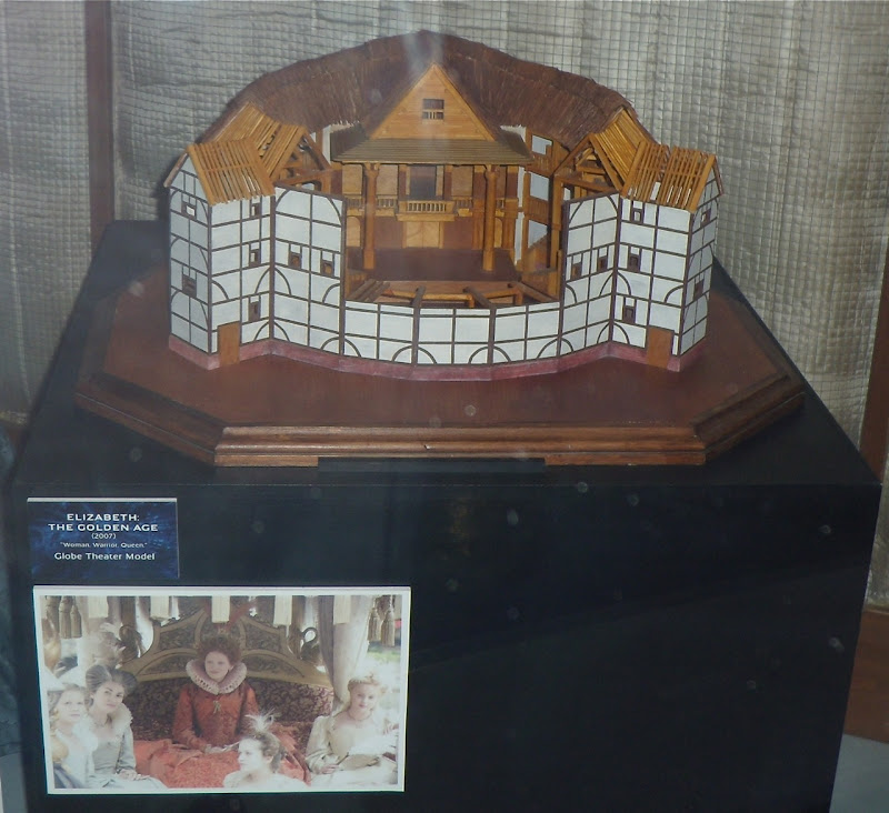 Elizabeth The Golden Age Globe Theatre model