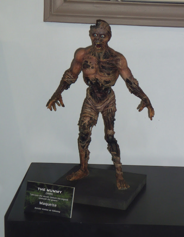 The Mummy Imhotep maquette