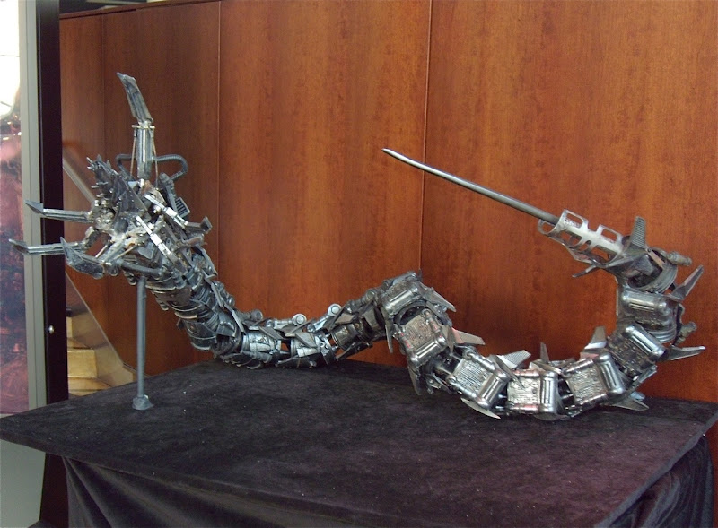 Hydrobot movie prop from Terminator Salvation
