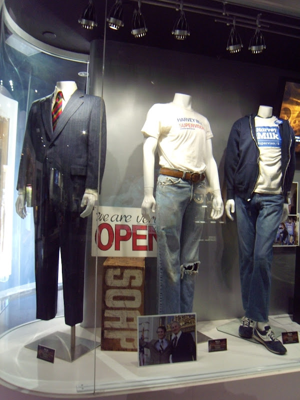 Original Milk movie costumes Universal Studios Hollywood