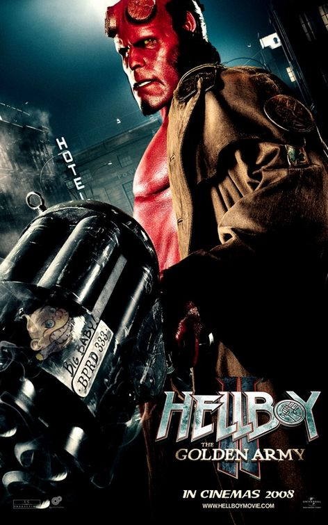 Hellboy II The Golden Army Big Baby Gun poster