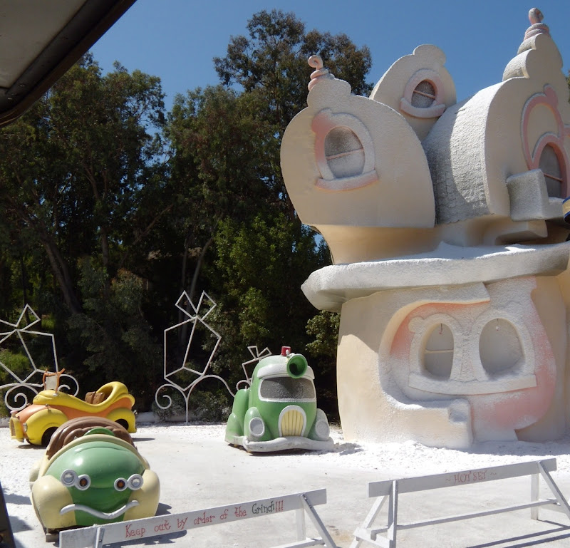 The Grinch set at Universal Studios Hollywood