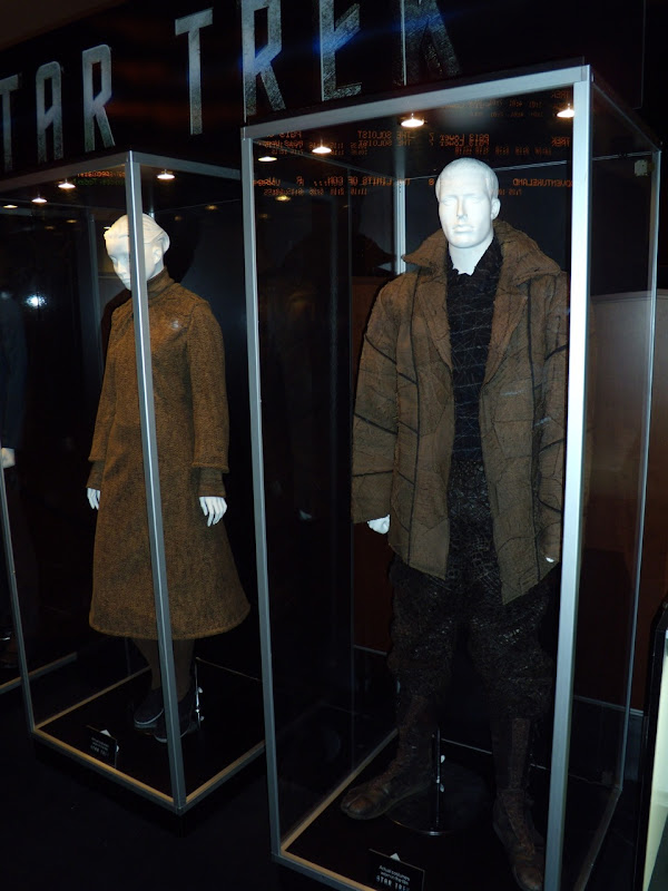 Star Trek Vulcan and Romulan film outfits