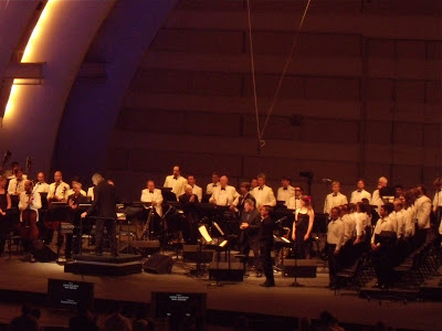 Philip Glass at The Hollywood Bowl 23 July 09