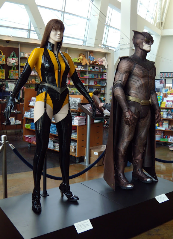 Actual Watchmen film costumes