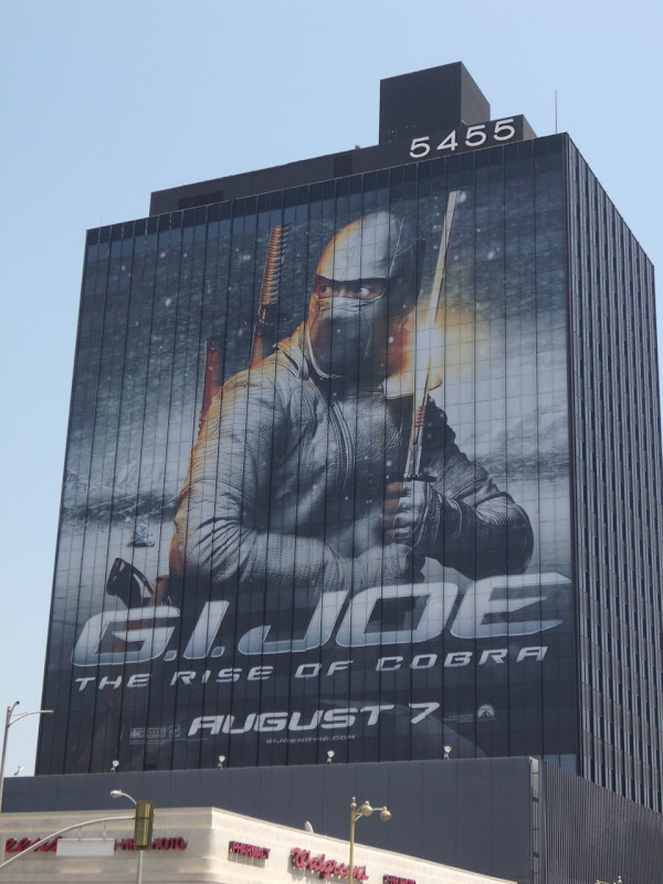 GI Joe movie billboard