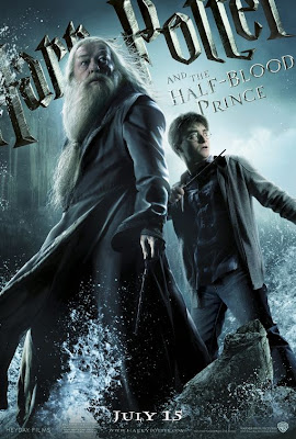 Harry Potter and Dumbledore movie poster