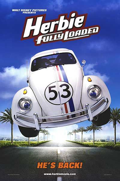 Herbie Fully Loaded film poster