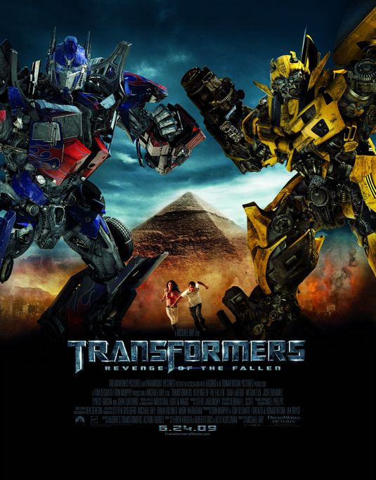 Transformers Revenge of the Fallen movie poster