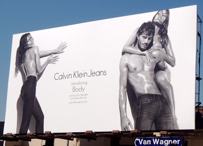 Jamie Dornan CK Jeans hot male model billboard