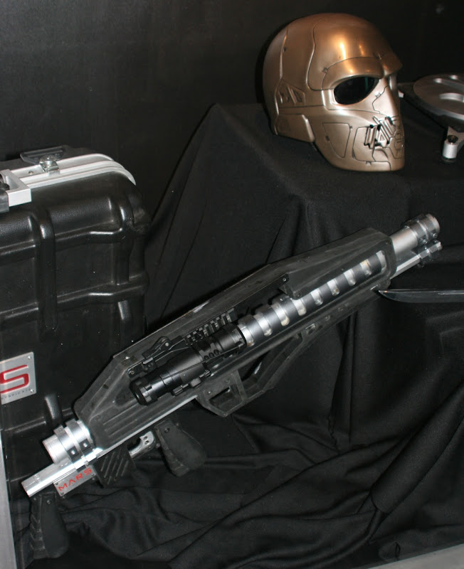GI Joe film weapons and masks