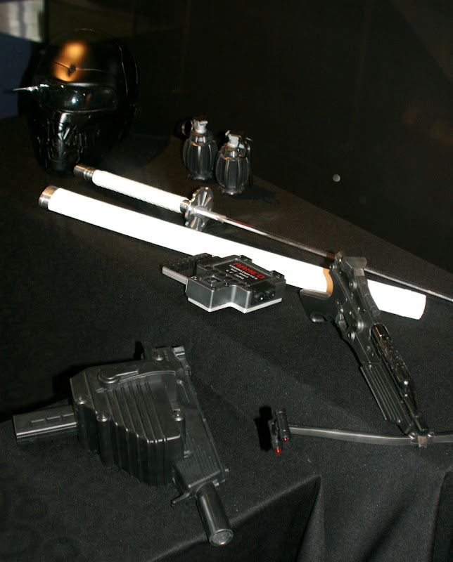 GI Joe movie weapons props